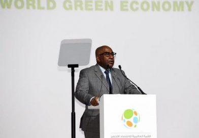 كلمة رئيس الجمهورية غزالي عثمان أمام قادة العالم خلال القمة العالمية للاقتصاد الأخضر بدبي من 20-21 أكتوبر 2019