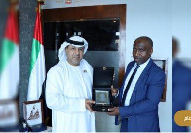 سفير دولة الإمارات يلتقي بوزير الداخلية والإعلام محمد داود كيكي