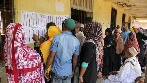 مراقبو الاتحاد الأفريقي يؤكدون حسن سير  الانتخابات  التشريعية في جزر القمر
