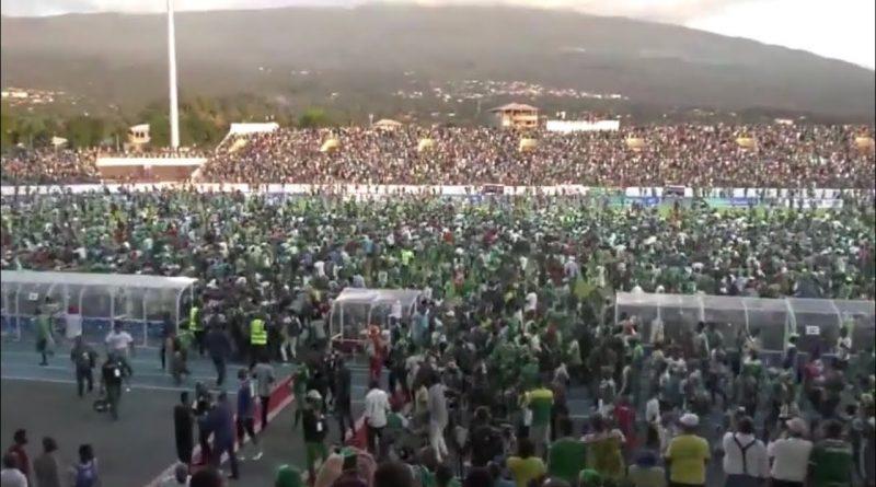 تصفيات كأس أفريقيا 2021 : اتحاد الكرة  يدعو  جمهور السيلكانت إلى عدم اقتحام الملعب من جديد