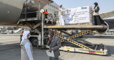 """الإمارات ترسل مساعدات طبية إلى جمهورية القمر المتحدة لتعزيز جهودها في مكافحة انتشار """"كوفيد-19"""""""