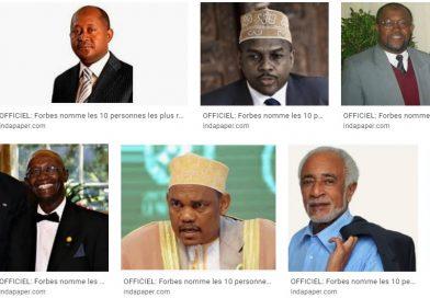 كلهم من الطبقة السياسية وجلهم تقلدوا أعلى المناصب في الدولة … هؤلاء أغنى 10 شخصيات في جزر القمر