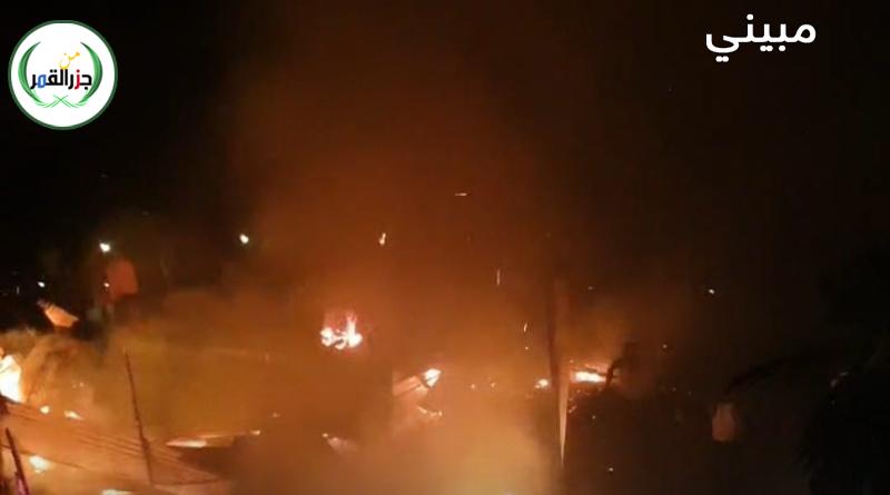 مدينة مبيني تدفن ليلا طفلتين قتلهما الحريق